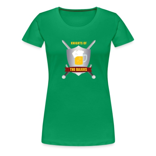 Knights of The Bajers - Dame premium T-shirt