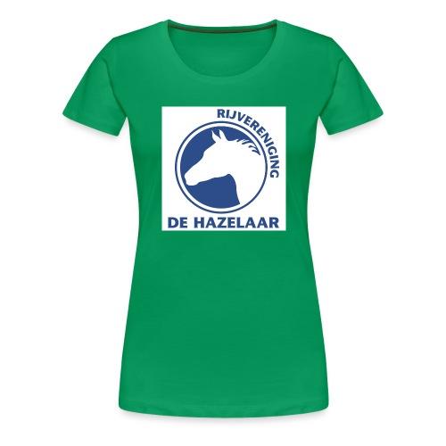 LgHazelaarPantoneReflexBl - Vrouwen Premium T-shirt