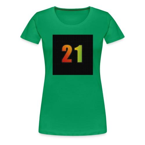 21 Hoody - Frauen Premium T-Shirt