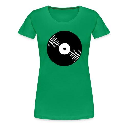 platte - Frauen Premium T-Shirt