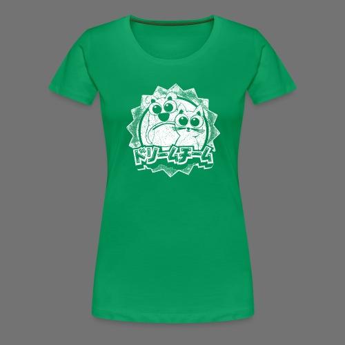 Dream team (1c valkoinen) - Naisten premium t-paita