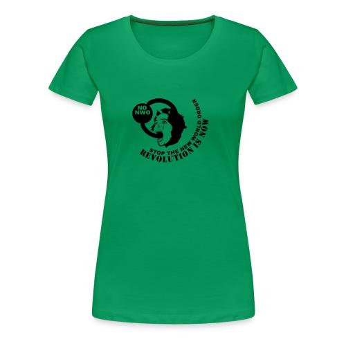 Stop NWO - Frauen Premium T-Shirt