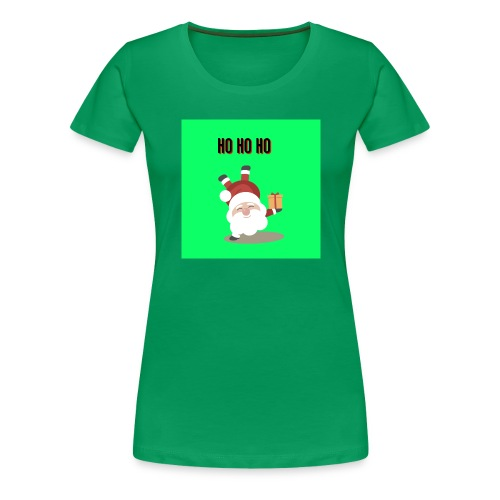 acrobatic santa - Women's Premium T-Shirt