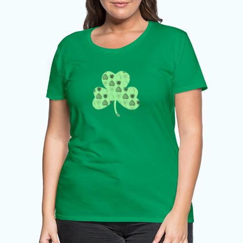 Glücksbringer Kleeblatt - Women's Premium T-Shirt