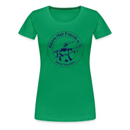 AHF Version 1 VEKTOR - Frauen Premium T-Shirt