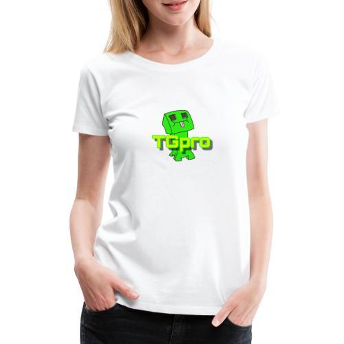 TGpro Creeper logo - Women's Premium T-Shirt
