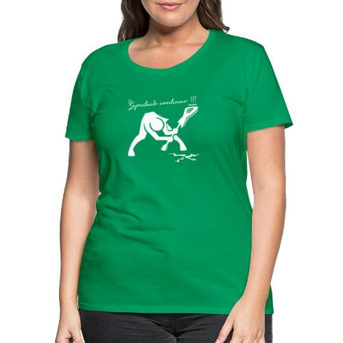 LeSpectacleCotinue logo - T-shirt Premium Femme