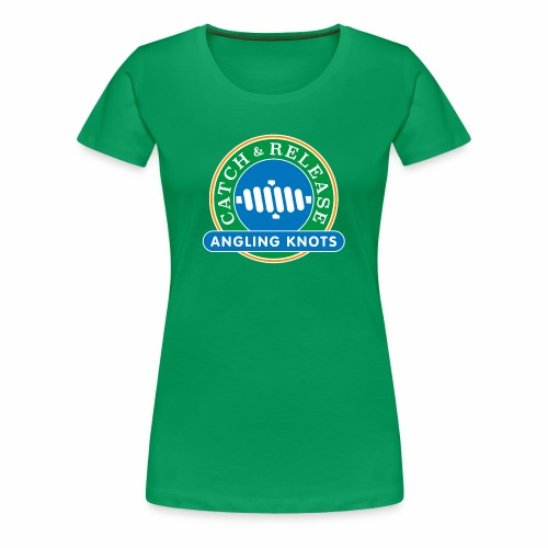 Angling Knots Catch and Release - Vrouwen Premium T-shirt