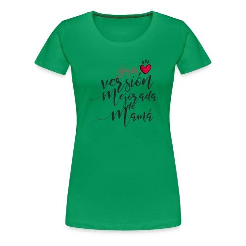 8 - Camiseta premium mujer