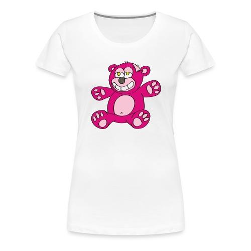 Teddy Rood - Vrouwen Premium T-shirt
