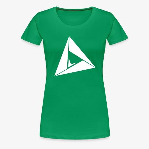 LogoBlanc png - T-shirt Premium Femme