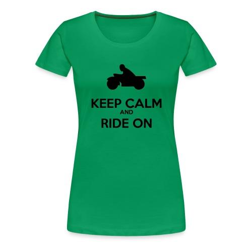 Keep Calm MC - Premium-T-shirt dam