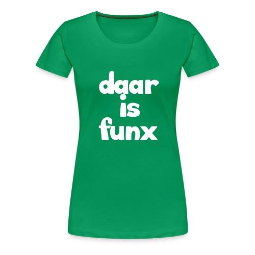 Pet DaarIsFunx - Vrouwen Premium T-shirt