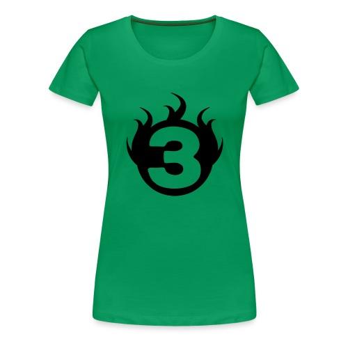 shoulder logoc - T-shirt Premium Femme
