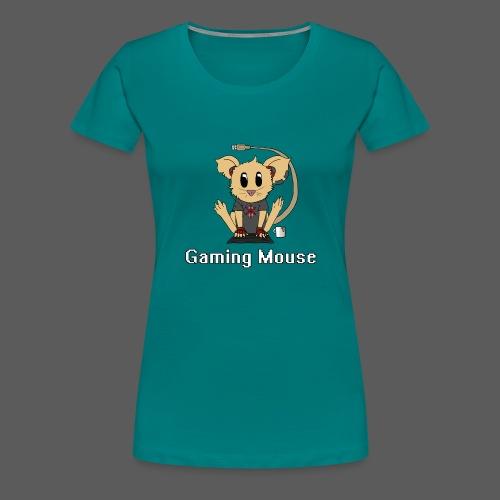 Gaming Mouse - Frauen Premium T-Shirt