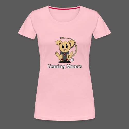Gaming Mouse - Frauen Premium T-Shirt