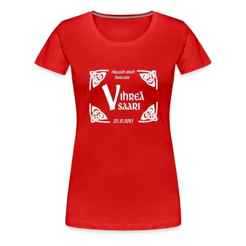 dragun show logo2 - Naisten premium t-paita