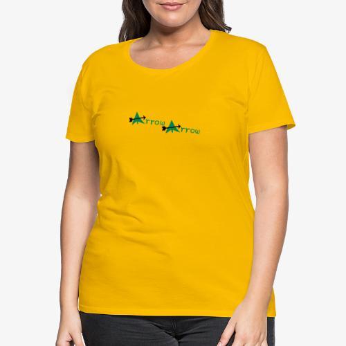 arrow arrow patjila - Women's Premium T-Shirt