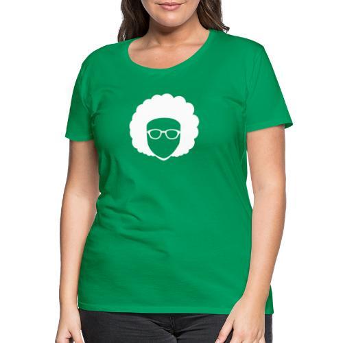 Afro Nerd - nerdy - Women's Premium T-Shirt