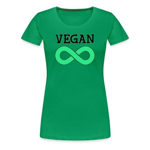 vegan infinity - Camiseta premium mujer