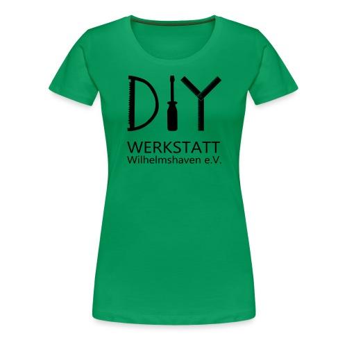 DIYWW Logo ohne HG - Frauen Premium T-Shirt