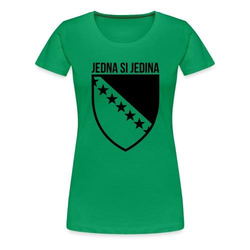 Jedna Si Jedina Bosna - Frauen Premium T-Shirt