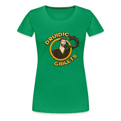 Druidic Giblets Logo - Women's Premium T-Shirt