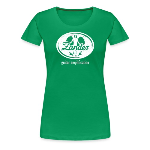 ZANDER GUITAR AMPLIFICATION - Frauen Premium T-Shirt