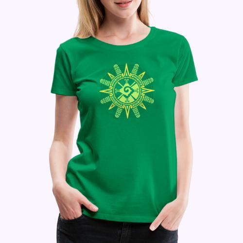 Hunab Ku Mayan Kuukivi - Naisten premium t-paita