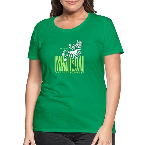 Zebra Code - Women's Premium T-Shirt
