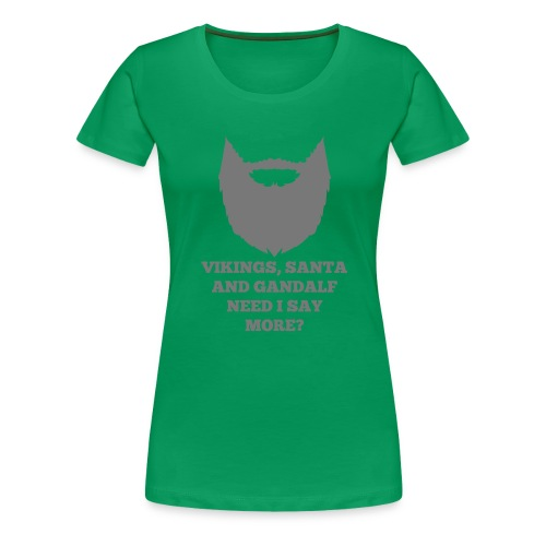 Viking Santa Gandalf - Vrouwen Premium T-shirt