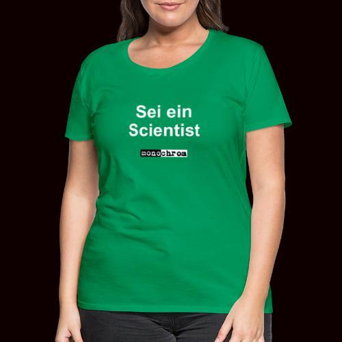 tshirt scientist - Women's Premium T-Shirt