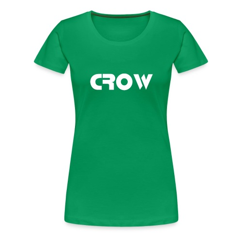 CROW-Trainingsjacke - Frauen Premium T-Shirt