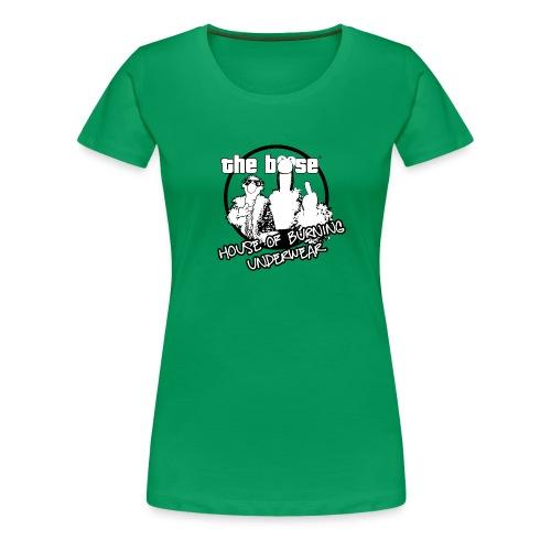 hobu logo - Frauen Premium T-Shirt