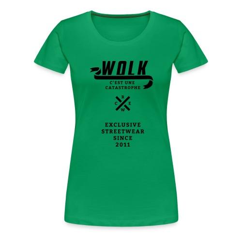 varsityx04 - Vrouwen Premium T-shirt