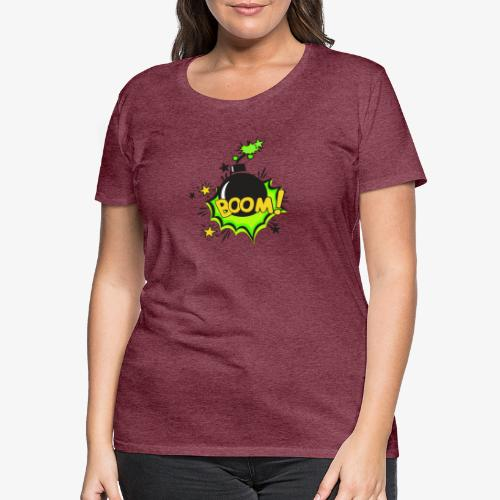Serie Animaciones de los 80´s - Camiseta premium mujer