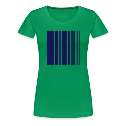 stripes blue - Women's Premium T-Shirt
