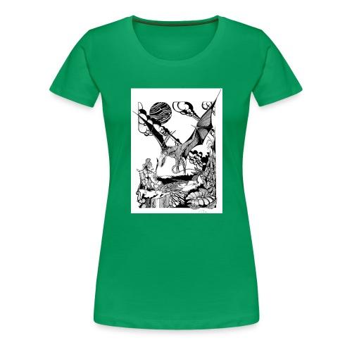 guerrera - Camiseta premium mujer