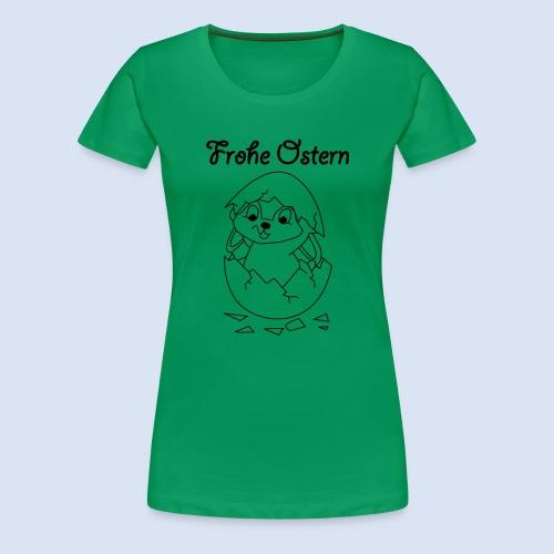 Hase im Ei - Osterhase - Frauen Premium T-Shirt