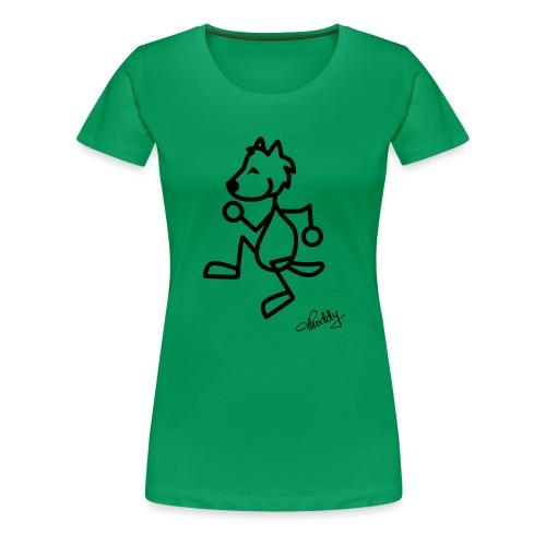tanzenderwolf - Frauen Premium T-Shirt