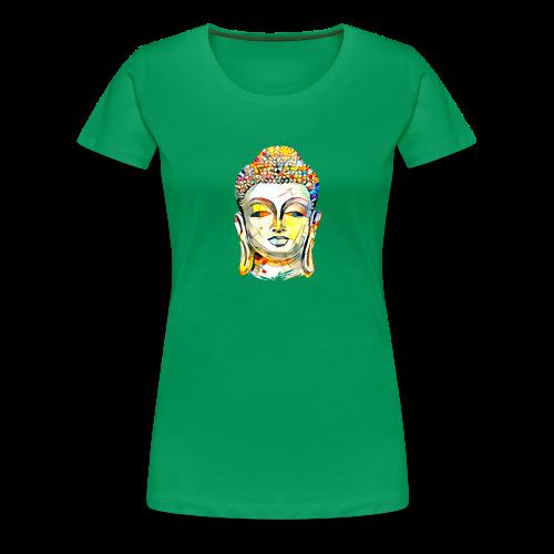 Buddha Kopf - Frauen Premium T-Shirt