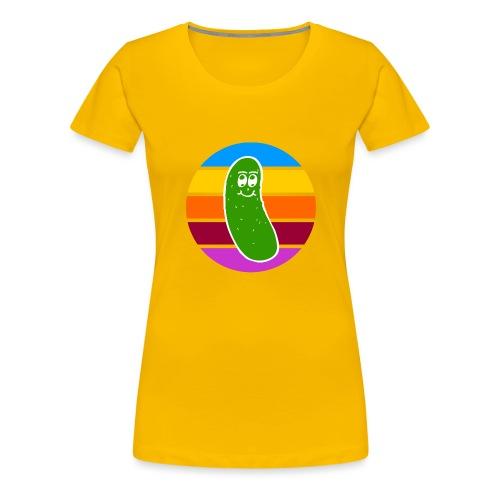 Vintage Colored Pickle #1 - Maglietta Premium da donna