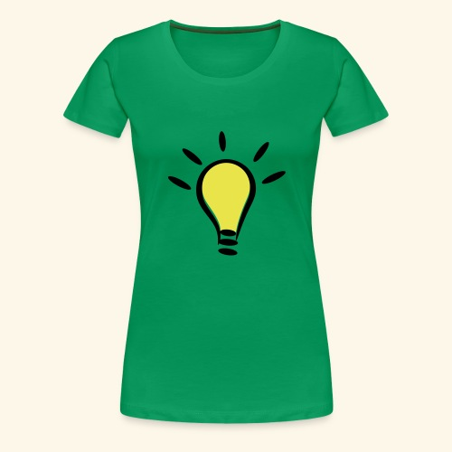Glühbirnen Kollektion - Frauen Premium T-Shirt
