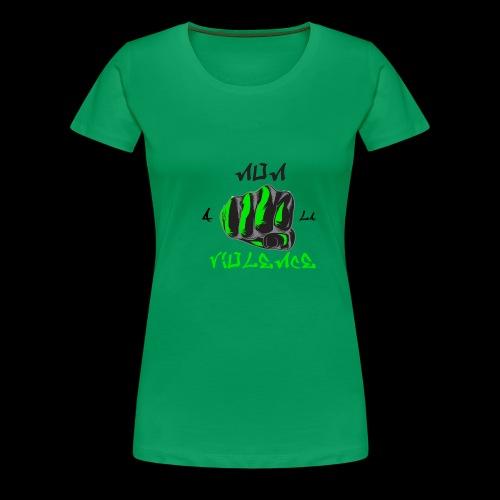 non a la violence - T-shirt Premium Femme