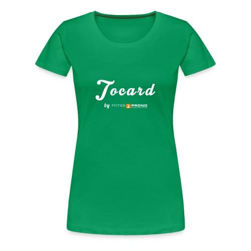 TshirtTocard02 png - T-shirt Premium Femme