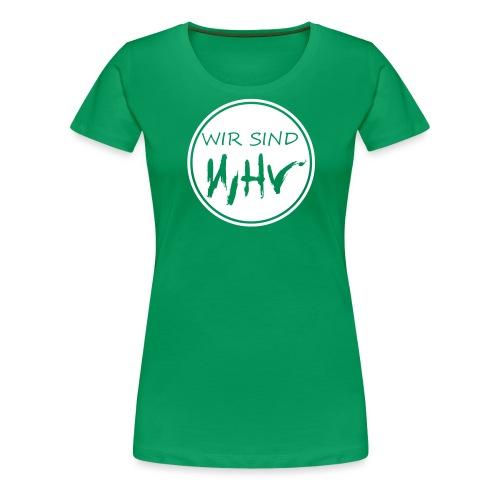 Wir Sind WHV Grafik Service1 - Frauen Premium T-Shirt