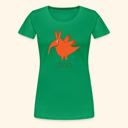 dooda - Frauen Premium T-Shirt