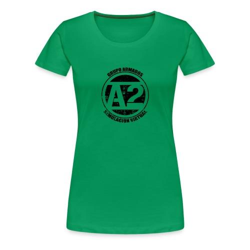 Sudadera ArmaDos Verde - Camiseta premium mujer