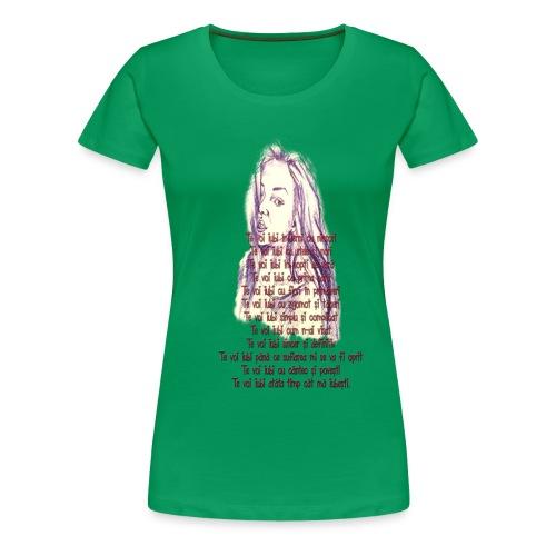 Citat 3 SSm - Camiseta premium mujer
