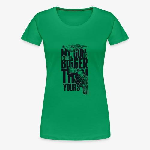 Gewehr - Frauen Premium T-Shirt